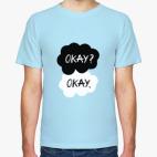 Классическая футболка Виноваты Звёзды/The Fault In Our Stars (Okay?Okay)