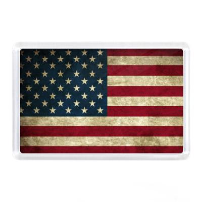 Магнит  Американский флаг