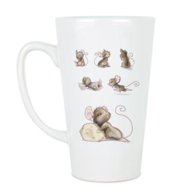 Чашка Латте мыши