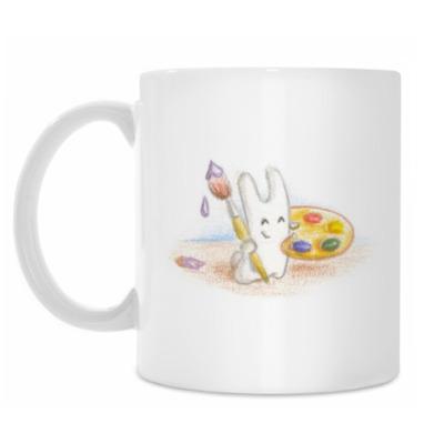 Кружка Кролик с кисточкой