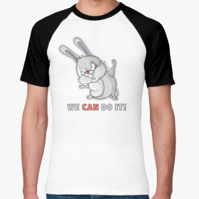 Футболка реглан White Rabbit