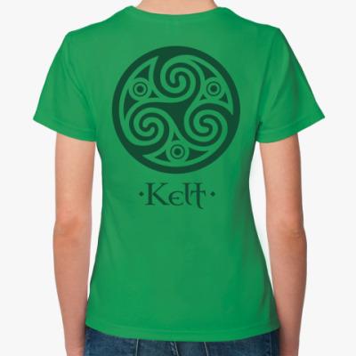 Женская футболка Кельт