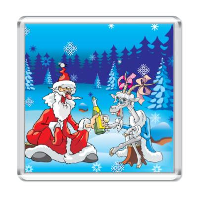 Магнит Дед мороз