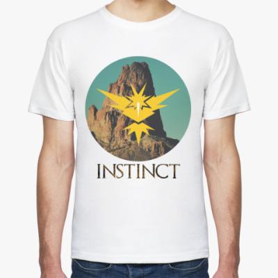 Футболка Pokemon GO (Team Instinct)