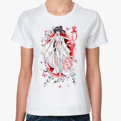 Классическая футболка Miyu