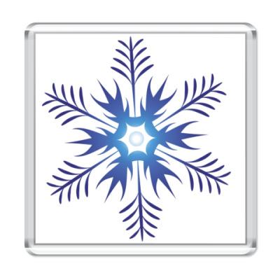 Магнит  Снежинка