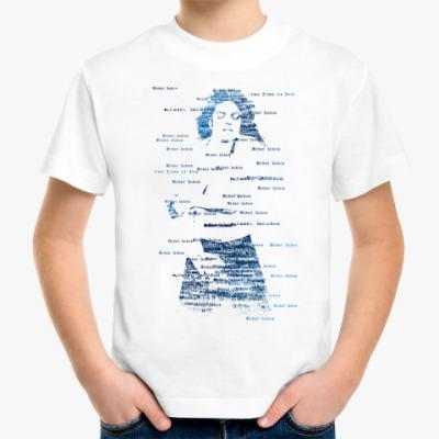 Детская футболка Майкл Джексон