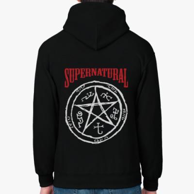 Толстовка худи Devil's Trap - Supernatural