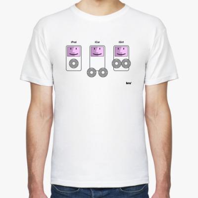 Футболка 'iPod,iCar,iGirl'