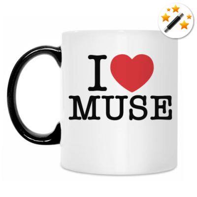 Кружка-хамелеон I love Muse