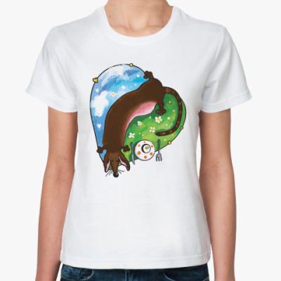 Классическая футболка такса