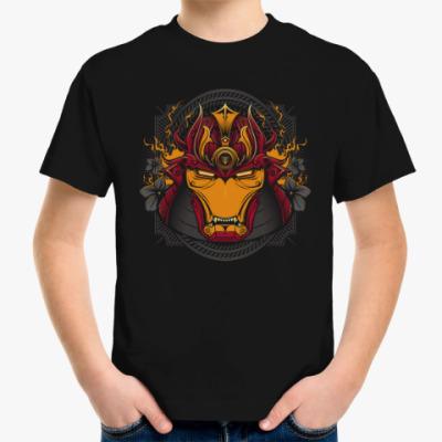 Детская футболка Железный Самурай