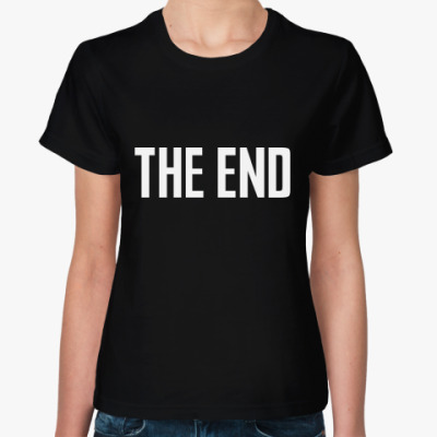 Женская футболка THE END