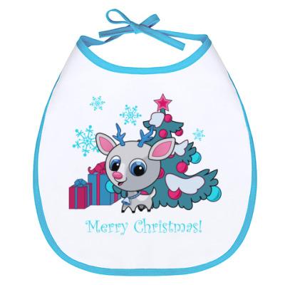 Слюнявчик с Рождеством!