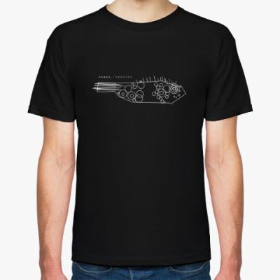 Футболка Мужская футболка Hanes (чёрная
