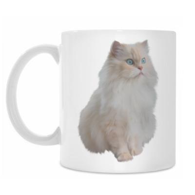 Кружка Snow White Cat