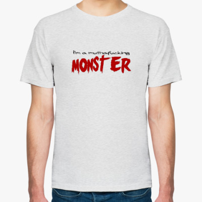 Футболка  Monster