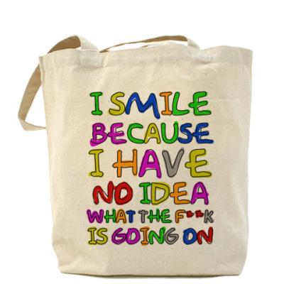 Сумка I Smile Холщовая сумка