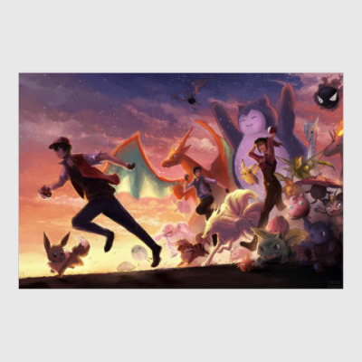 Постер Pokémon Go