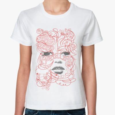 Классическая футболка  MysticFace