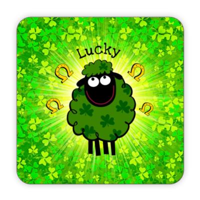 Костер (подставка под кружку) Lucky