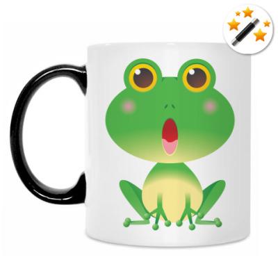 Кружка-хамелеон Лягушонок