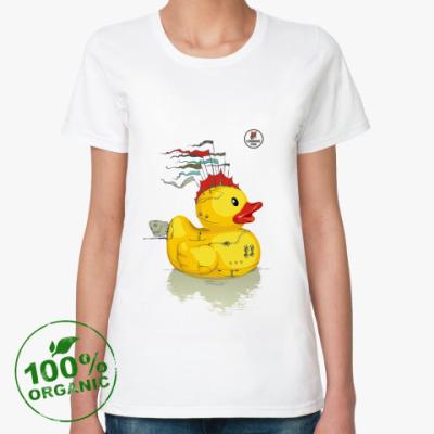 Женская футболка из органик-хлопка CunningFox FD