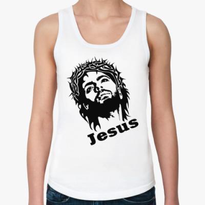 Женская майка Jesus(Иисус)