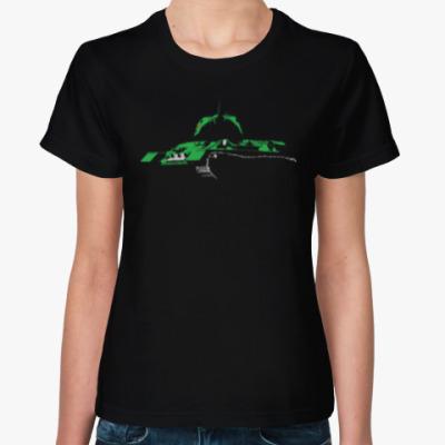 Женская футболка СССР Т-34-85 Танк Победы