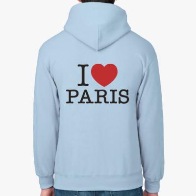 Толстовка худи Я Люблю Париж i love Paris