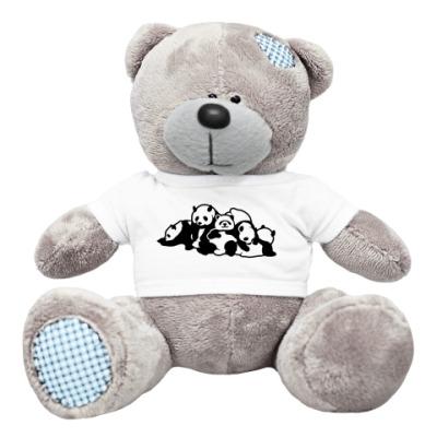 Плюшевый мишка Тедди Панды