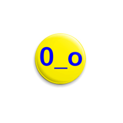 Значок 25мм  Smile
