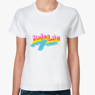 Классическая футболка  Ride Life