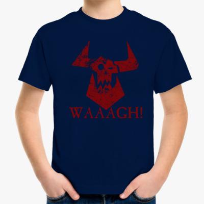Детская футболка Waaagh!