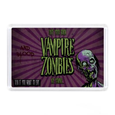 Магнит Vampire-Zombies