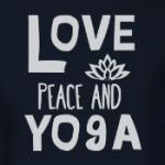 Love Peace and Yoga