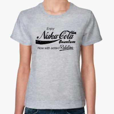Женская футболка Nuka Cola