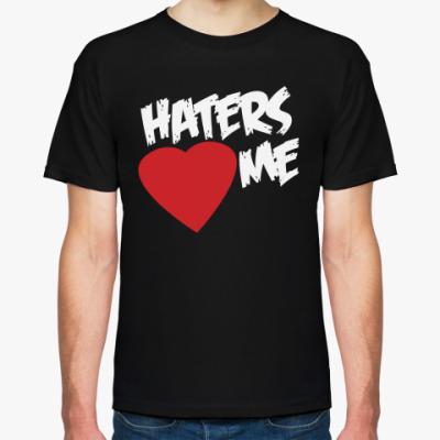 Футболка The Miz — Haters <3 Me