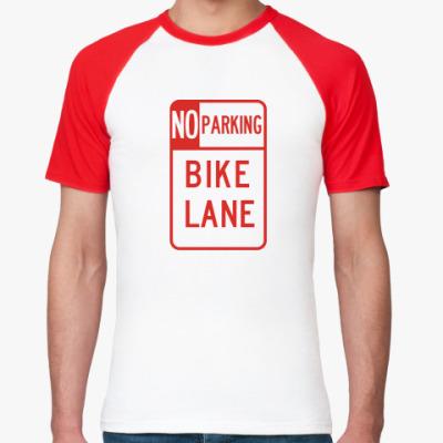 Футболка реглан Bike lane