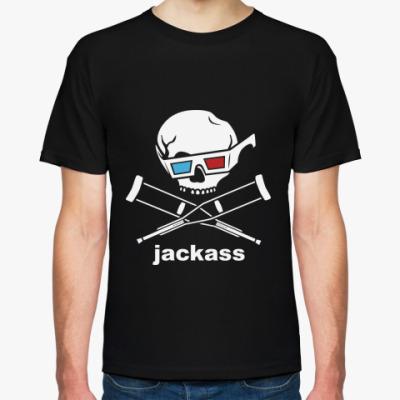 Футболка  Jackass 3d
