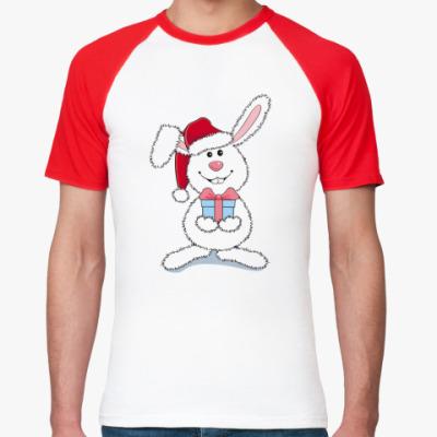 Футболка реглан   Кролик