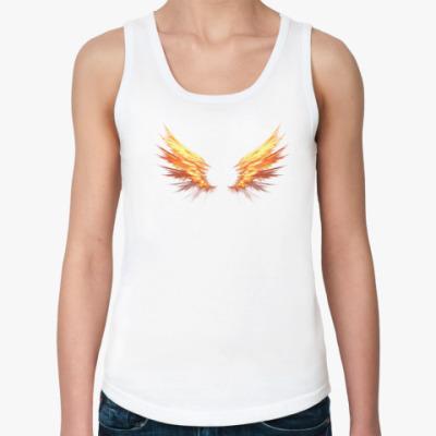 Женская майка Fire Wings