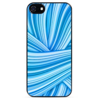 Чехол для iPhone Синие волны