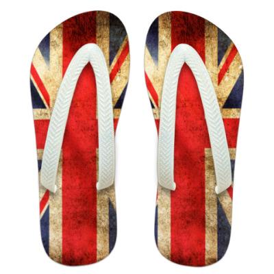 Шлепанцы (сланцы)  Union Jack