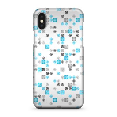 Чехол для iPhone X лаконичный frozenlight