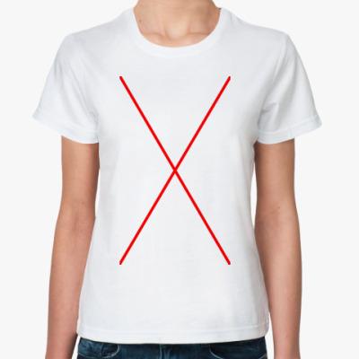 Классическая футболка Simple X