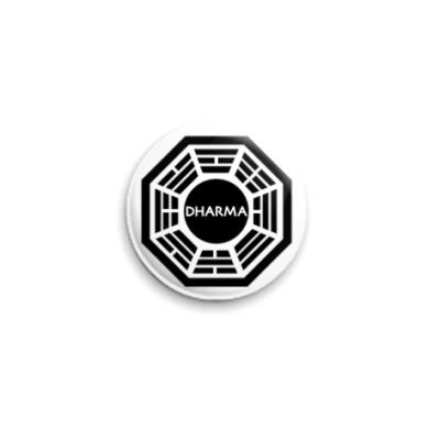 Значок 25мм  DHARMA