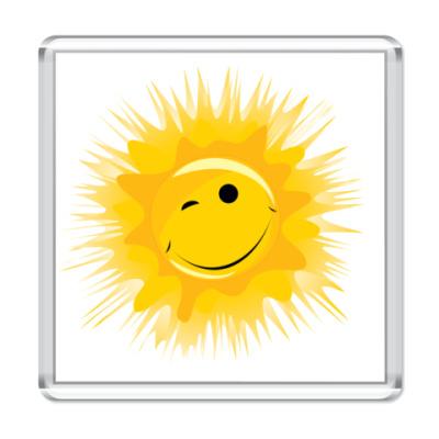 Магнит Солнце