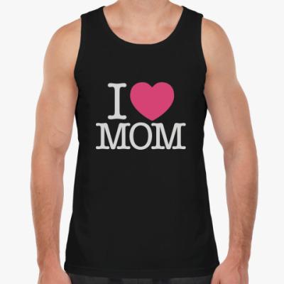 Майка I love MOM