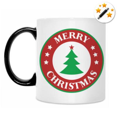 Кружка-хамелеон Merry Christmas